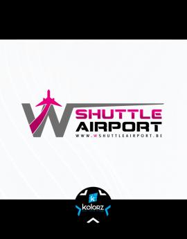 Création de logo et identité visuelle professionnelle W SHUTTLE AIRPORT