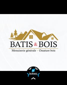 Création de logo et identité visuelle professionnelle BATIS & BOIS
