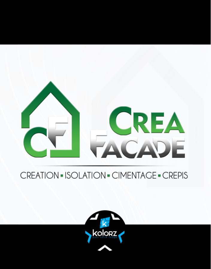 Création de logo et identité visuelle professionnelle CREA FACADE