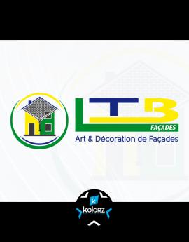 Création de logo et identité visuelle professionnelle LTB FACADES