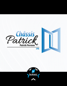 Création de logo et identité visuelle professionnelle CHASSIS PATRICK