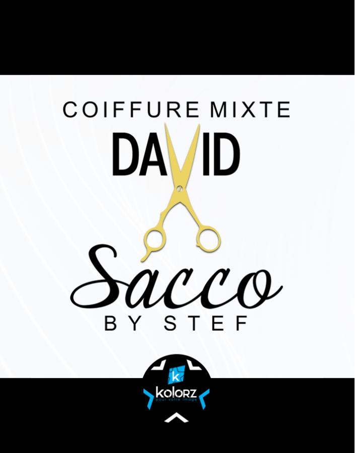 Création de logo et identité visuelle professionnelle DAVID SACCO COIFFURE