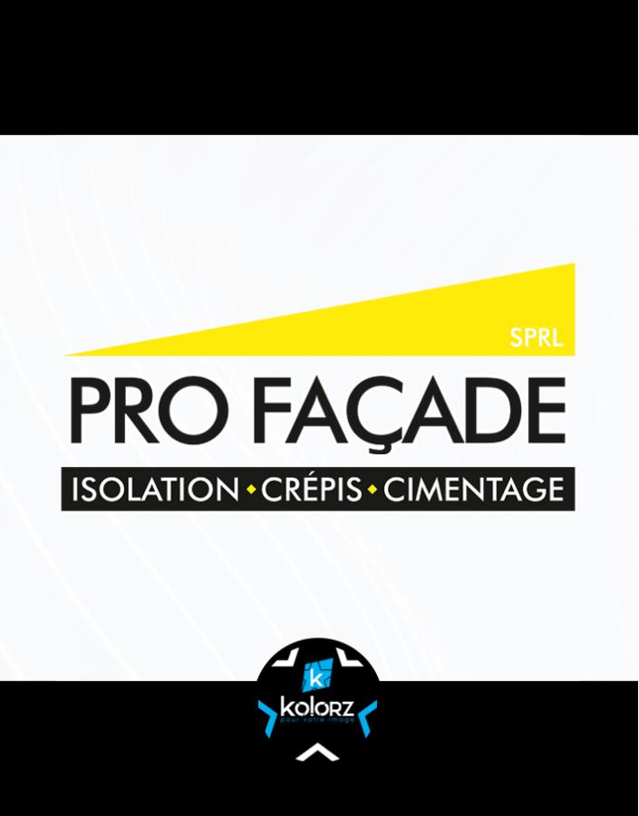 Création de logo et identité visuelle professionnelle PRO FACADE