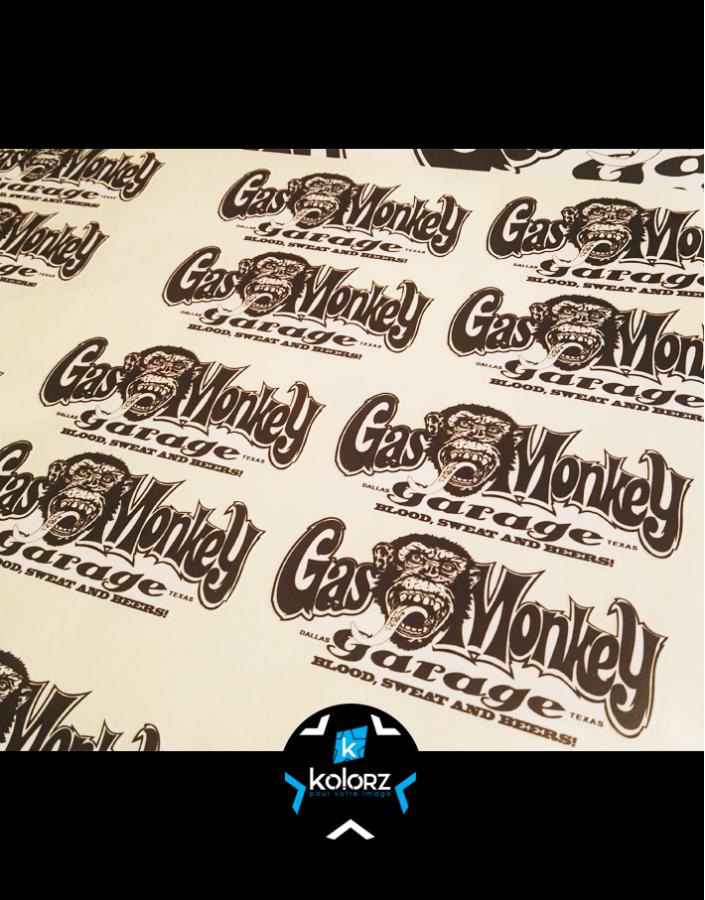 Stickers GAS MONKEY